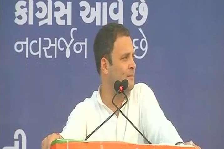 Modiji changing agenda of Gujarat polls after getting