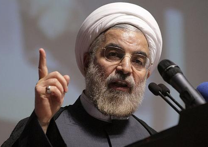File pic of Iran's President Hassan Rouhani