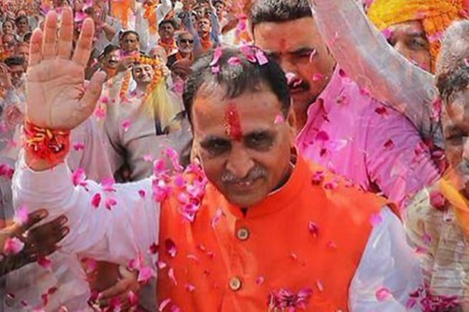 Gujarat CM Vijay Rupani will take oath on Tuesday