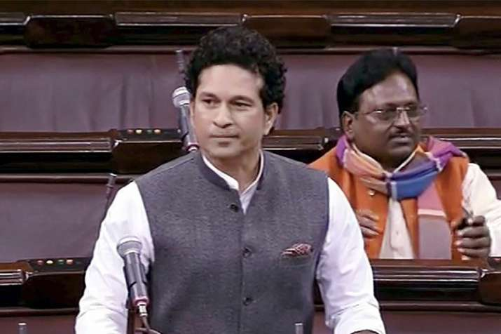 Sachin Tendulkar fails to make debut Rajya Sabha speech