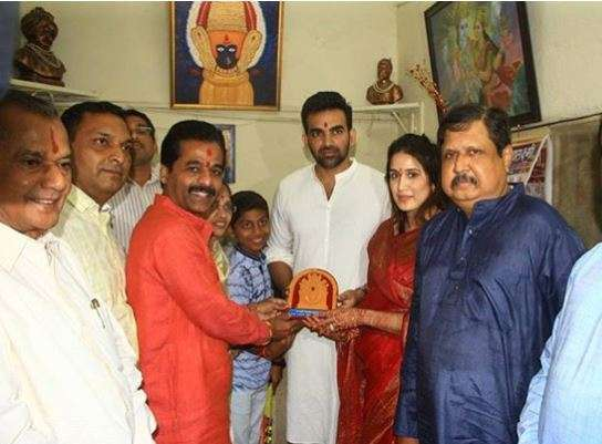 India Tv - Zaheer Khan and Sagarika Ghatge
