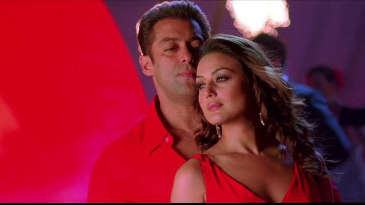 India Tv - Salman and Preity in a still from movie Jaaneman