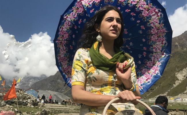 First look of Sara Ali Khan from Kedarnath