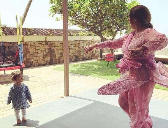 Misha Kapoor is in awe of her grandma