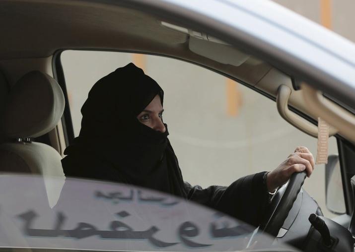 WOMEN START DRIVING