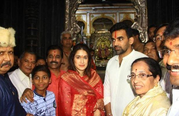 India Tv - Sagarika and Zaheer