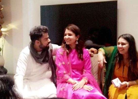 Virat and Anushka are in Delhi!