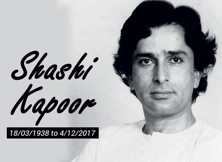 Shashi Kapoor is no more