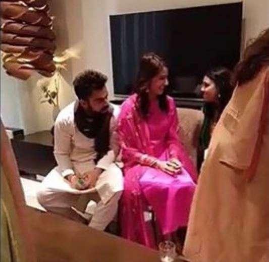 India Tv - Virat and Anushka are in Delhi!