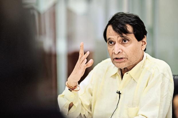Commerce minister Suresh Prabhu said that India would soon