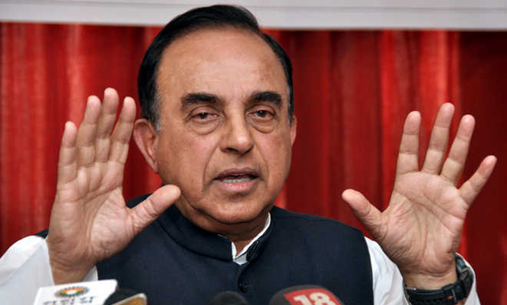 Senior BJP leader Subramanian Swamy