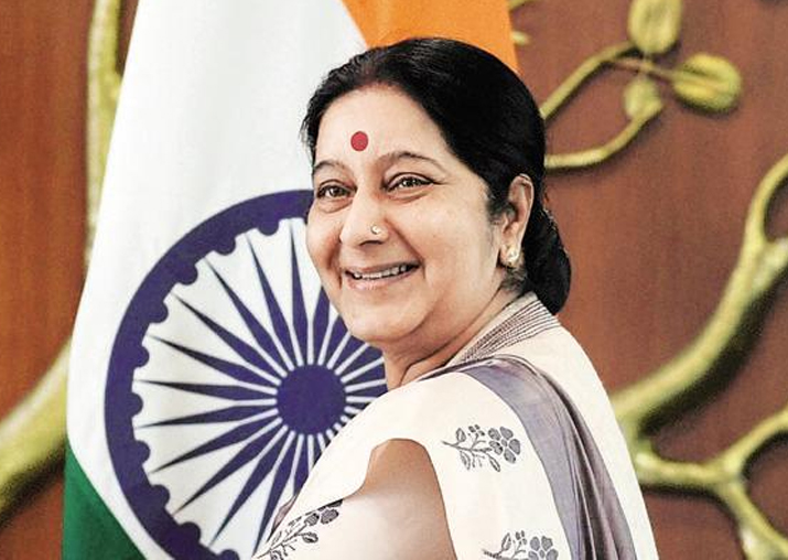 Sushma Swaraj congrats Pakistan on becoming SCO permanent