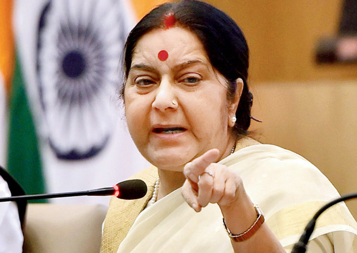 4 Indians in Nigerian custody released: Sushma Swaraj