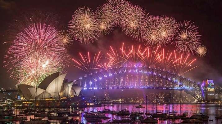 India Tv - Australia welcomes New Year 2018