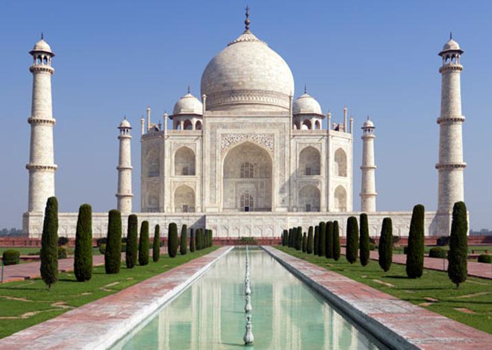 File pic of Taj Mahal