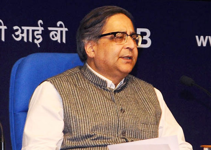 File pic of Chief Statistician TCA Anant