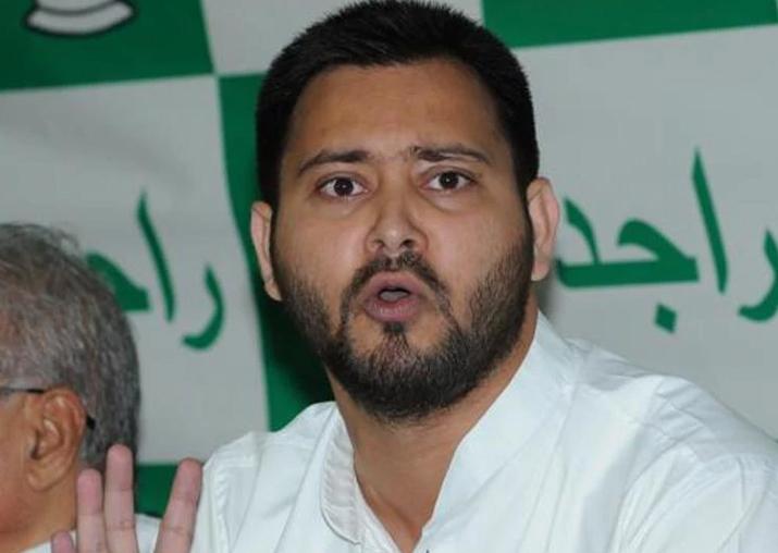 File pic - RJD leader Tejashwi Yadav