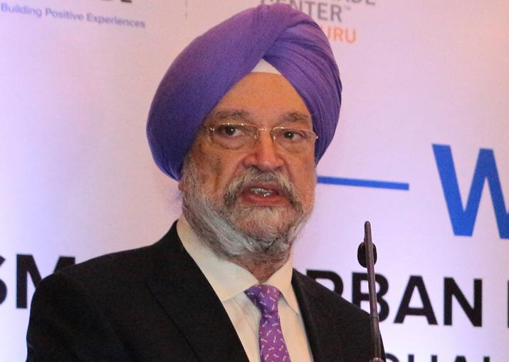 Housing and Urban Development Minister Hardeep Singh Puri