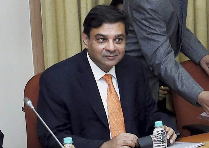 File pic - Reserve Bank Governor Urjit Patel