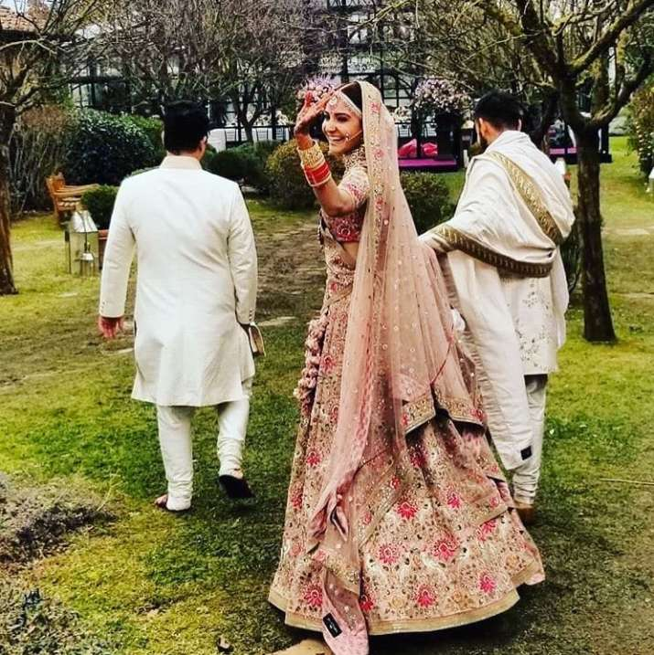 India Tv - Anushka Sharma, Virat Kohli wedding