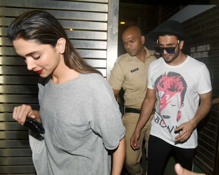 India Tv - Deepika Padukone and Ranveer Singh