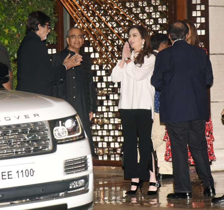 India Tv - Mukesh Ambani's party