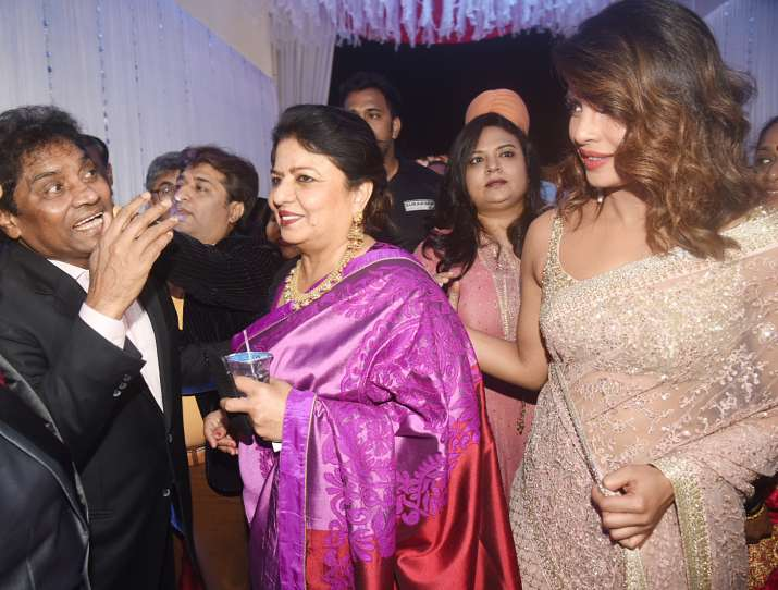 India Tv - priyanka chopra at a wedding