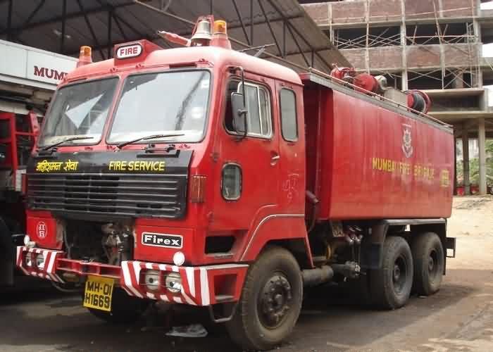 Mumbai shop blaze