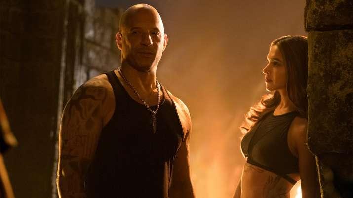 India Tv - Vin Diesel and Deepika Padukone in xXx: Return of Xander Cage
