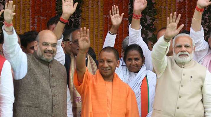 India Tv - BJP registered a landslide victory in assembly elections