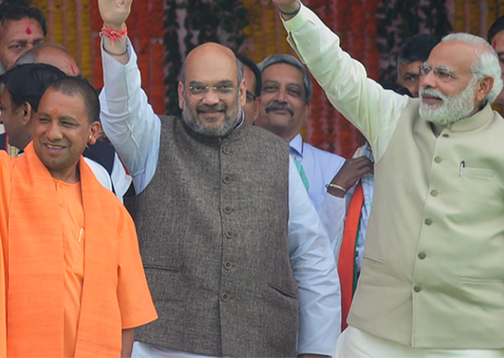 UP Civic Poll Results: Saffron wave continues as BJP takes