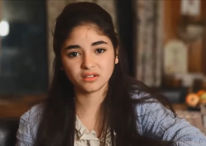 File pic of Zaira Wasim
