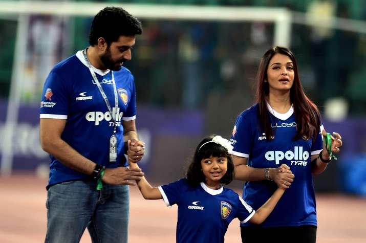India Tv - Aishwarya Rai Bachchan, Aaradhya Bachchan, Abhishek Bachchan