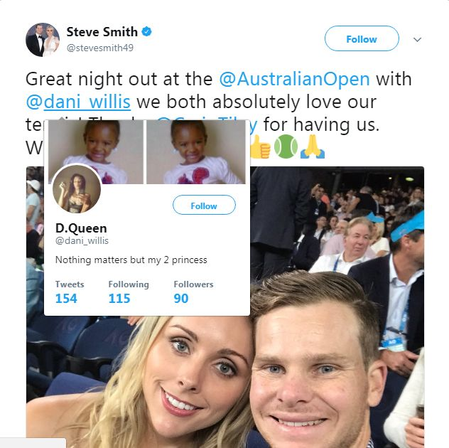 India Tv - Steve Smith tags the wrong woman