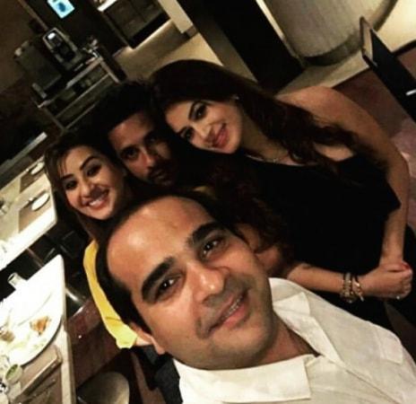 India Tv - Shilpa Shinde Bigg Boss 11 party