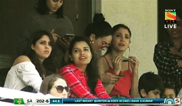 India Tv - Anushka Sharma, Aesha and Nupur Nagar.