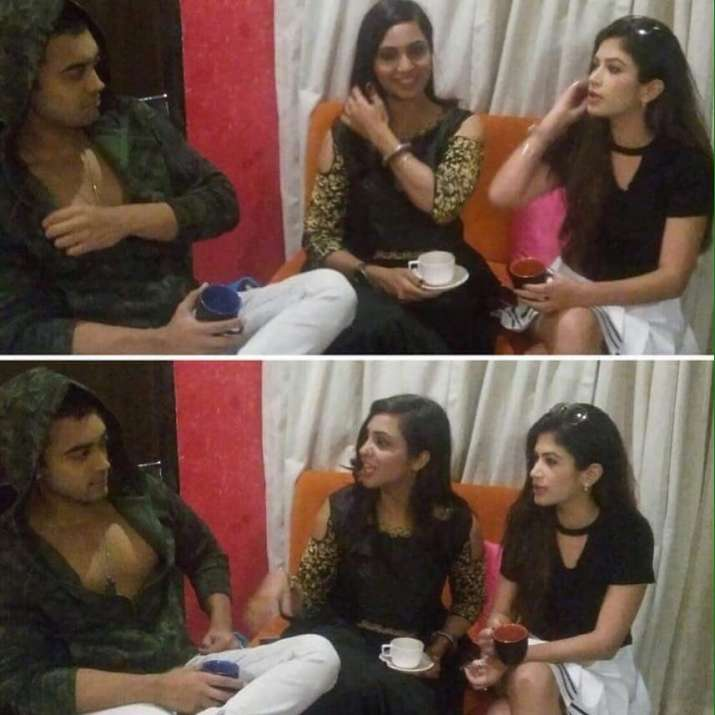 India Tv - Bandgi Kalra, Luv Tyagi and Arshi Khan hang out together