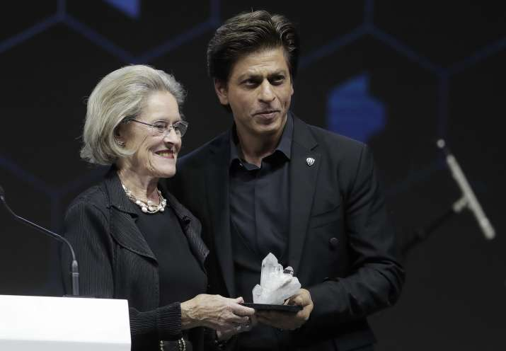 Shah Rukh Khan was honoured with the 24th Crystal Award at
