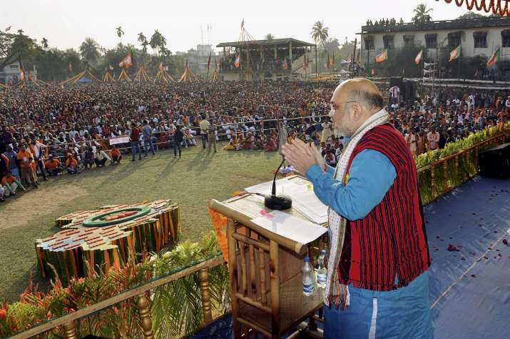 Tripura assembly elections: Amit Shah expresses confidence