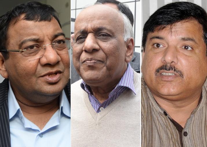 File pic - Sushil Gupta, ND Gupta and Sanjay Singh
