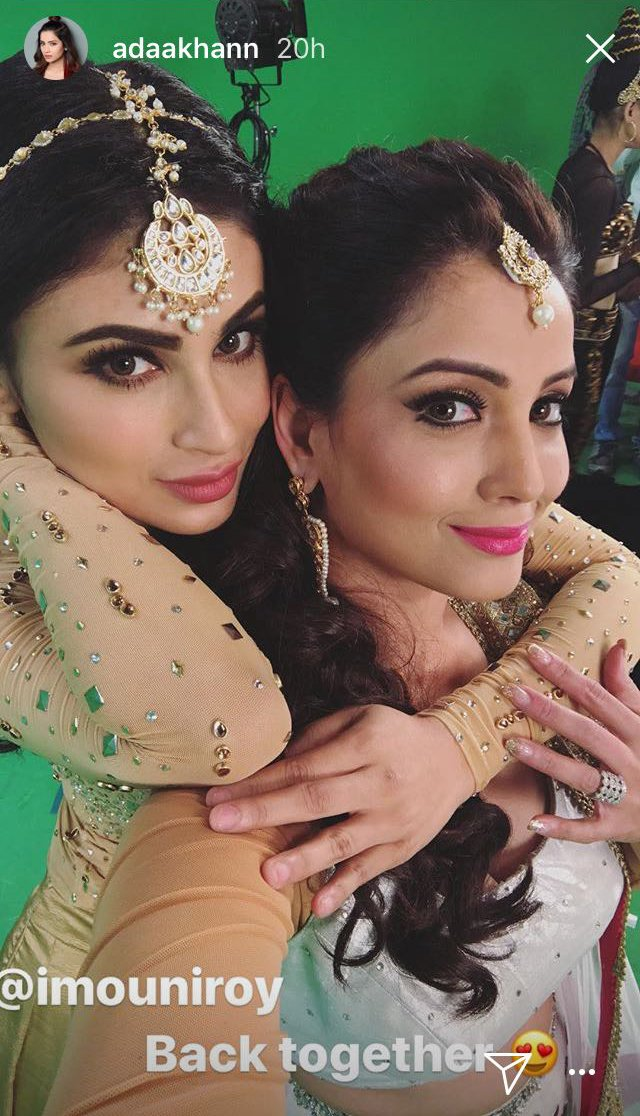 India Tv - Mouni Roy and Adaa Khan