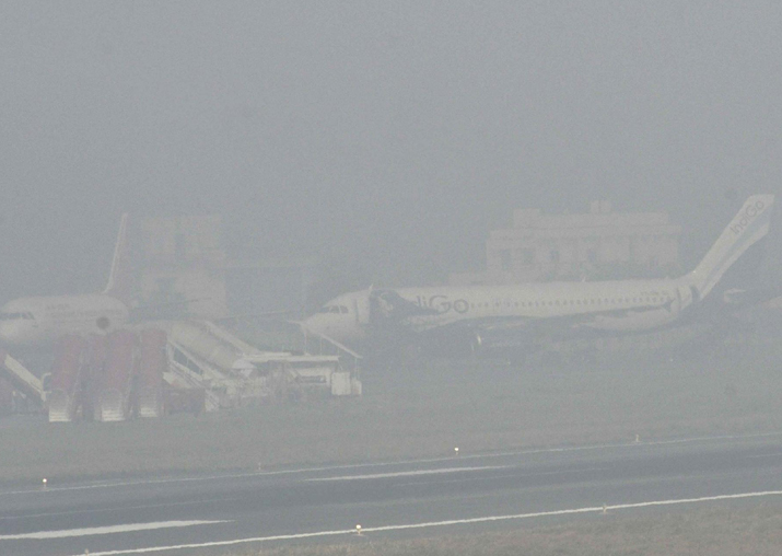 Flight operations at Delhi airport suspended due to dense