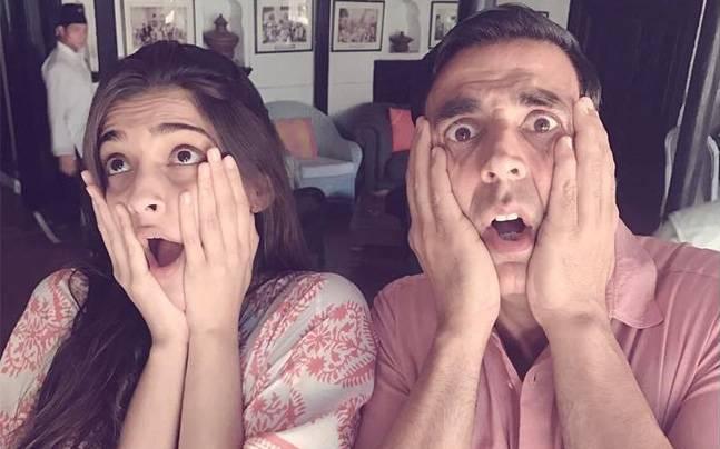 Akshay Kumar and Sonam Kapoor
