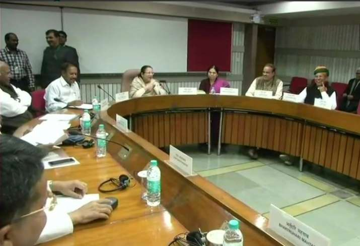 All-Party Meeting called by Lok Sabha Speaker Sumitra