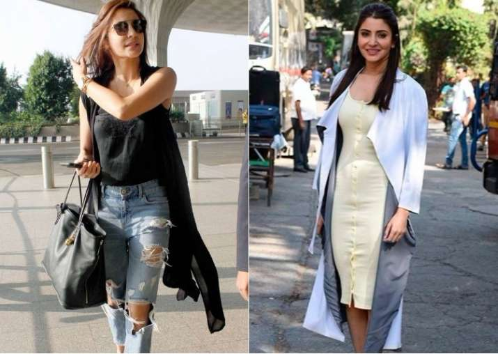 anushka sharma is one star who can make casual wear look chic and