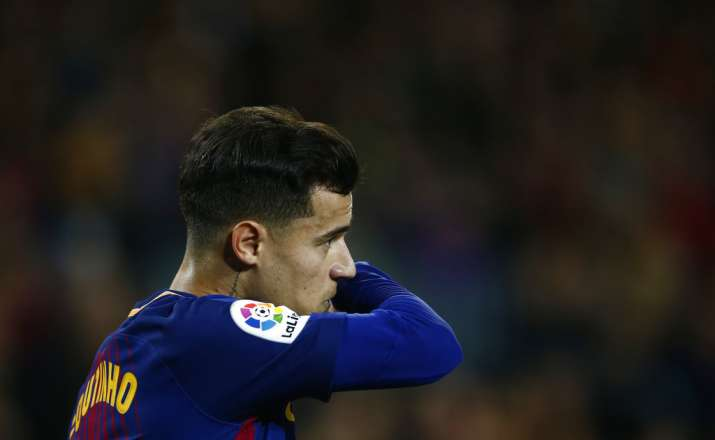India Tv - Philippe Coutinho made his debut in the Copa quarters.