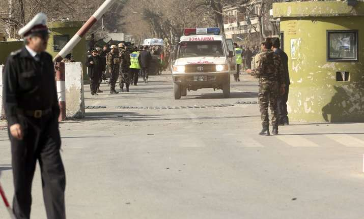 India Tv - Suicide car bomb attack in Kabul