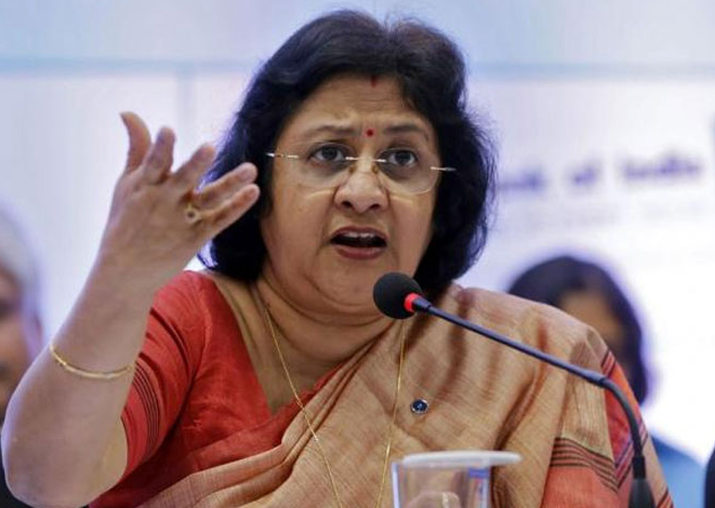 File pic of former SBI chairperson Arundhati Bhattacharya