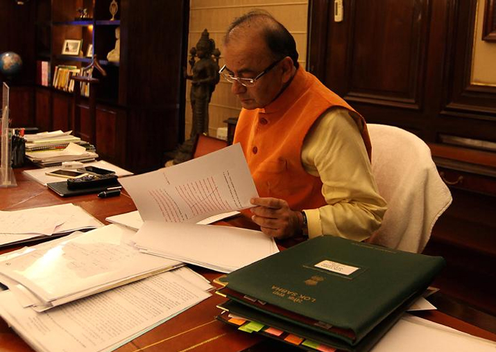 India Tv - File pic of Finance Minister Arun Jaitley