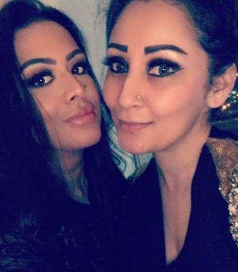 India Tv - Maanayata and Trishala